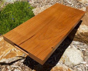 WORMY CHESTNUT SERVING BOARD