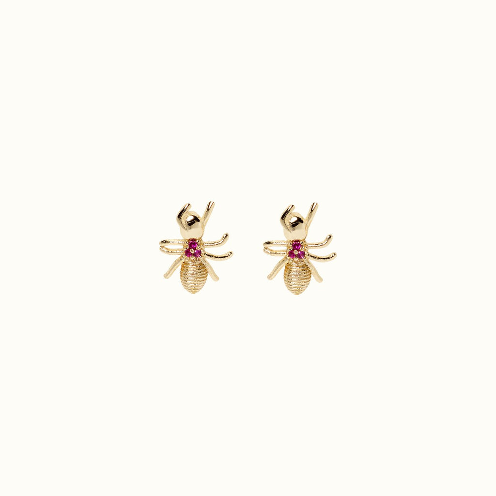 Evangelina Ant Earrings