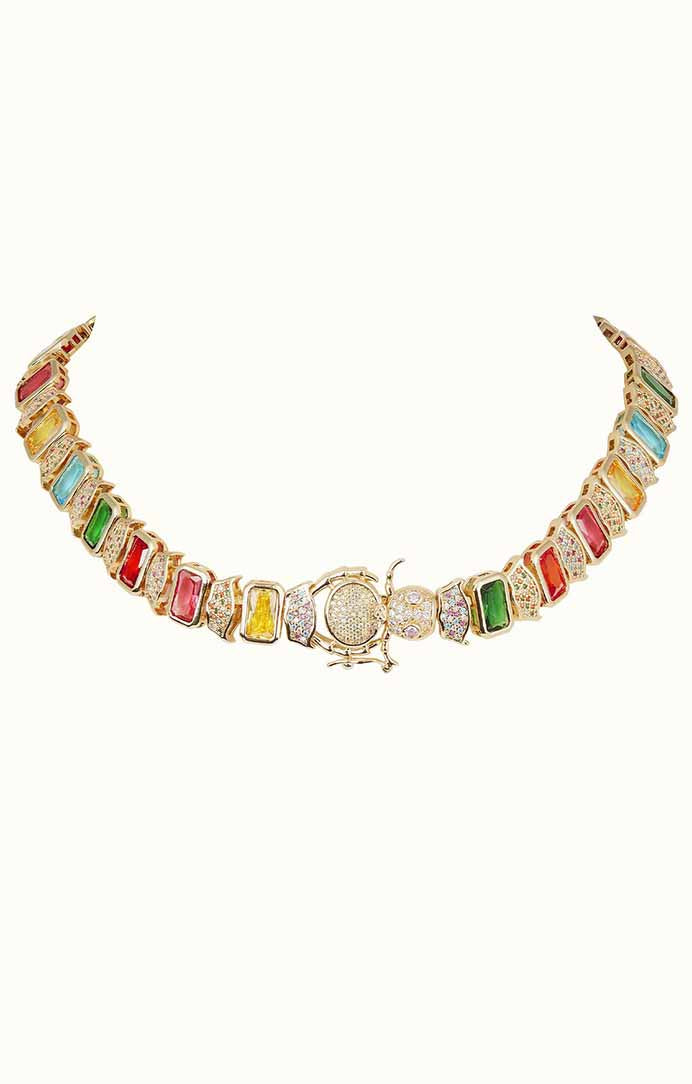 Elizabeth Caterpillar Necklace