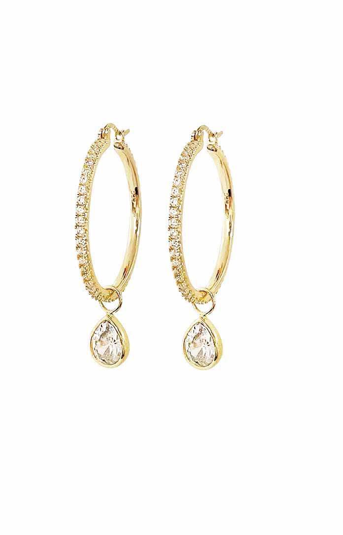 Olympia Clear Tear Drop set