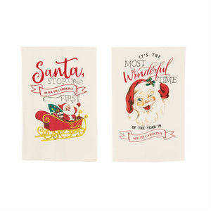 The Most Wonderful Time Christmas Towel