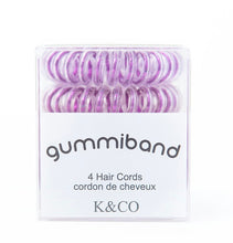 Load image into Gallery viewer, GummiBand Hair Cords- (4 count)