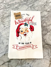Load image into Gallery viewer, The Most Wonderful Time Christmas Towel
