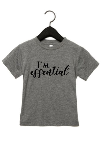 I'm Essential Tee Shirt-Girls