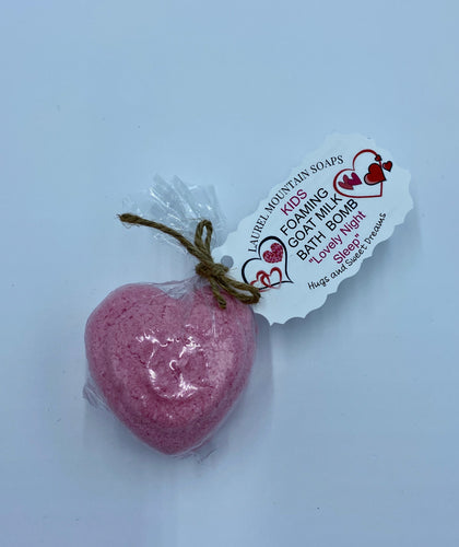 Heart Kids Bath Bomb