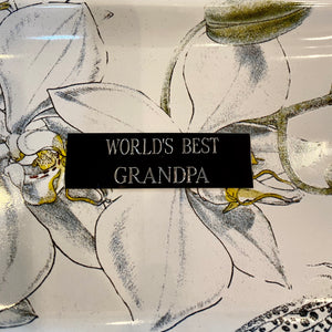World's Best Grandpa Plaque