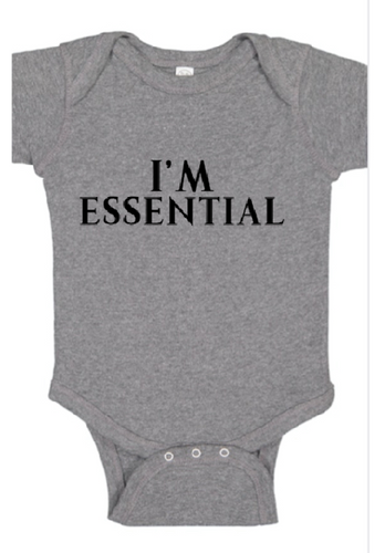I'm Essential Onesie-Boys