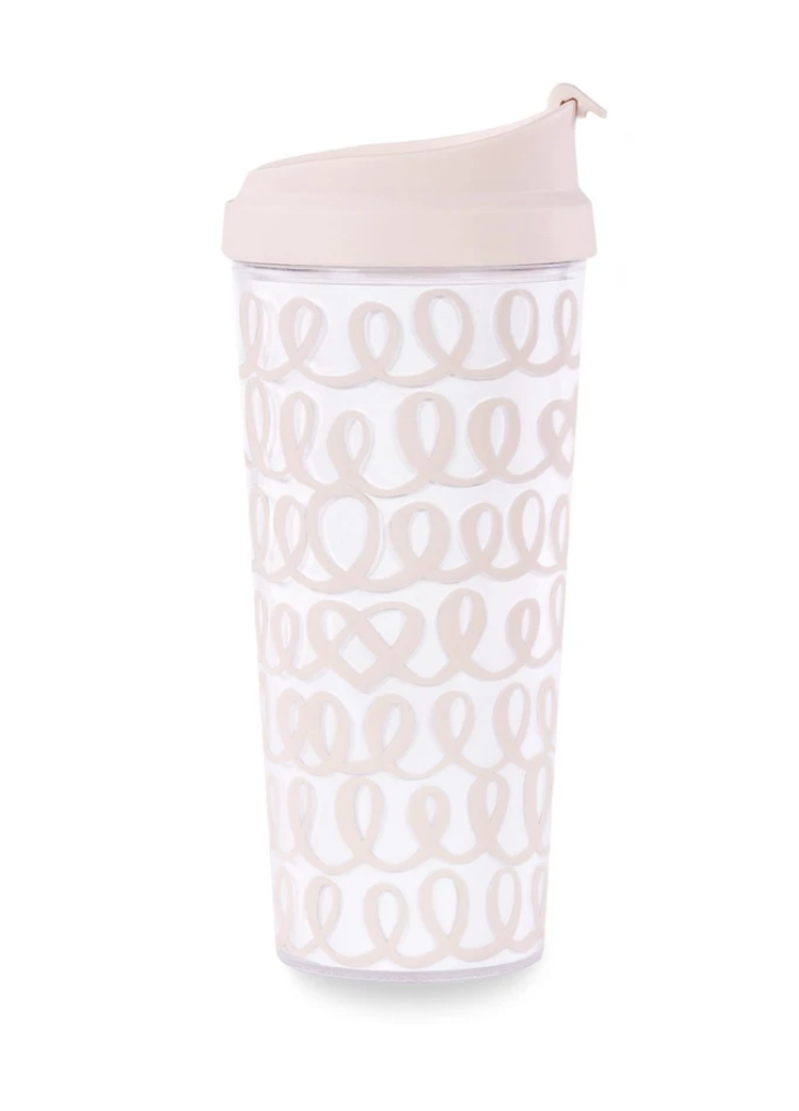 Heart Knot Thermal Mug