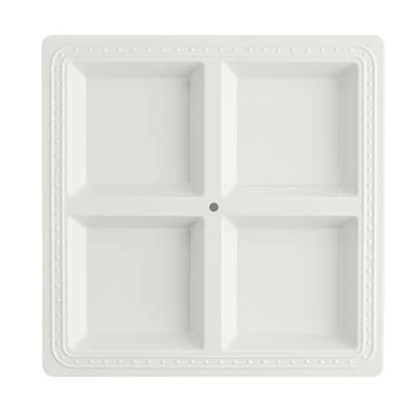 Melamine Square Divided Server