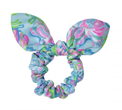 Hair Scrunchie Aqua