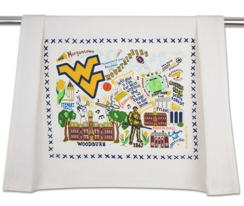 West Virginia-Dish Towel