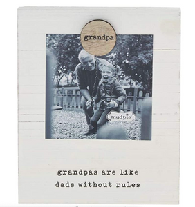 Grandpa Magnetic Wood Frame