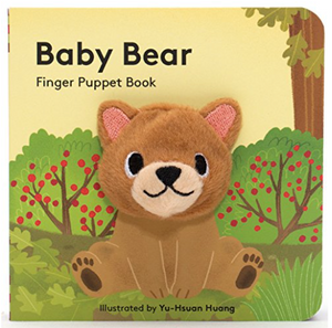 Finger Puppet Book - Bear
