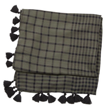 Load image into Gallery viewer, Gingham Square Scarf