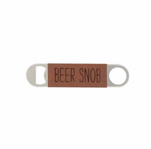 Load image into Gallery viewer, Leather Wrapped Bottle Opener