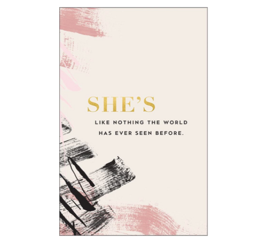 Journal-She's like nothing the world has ever seen before