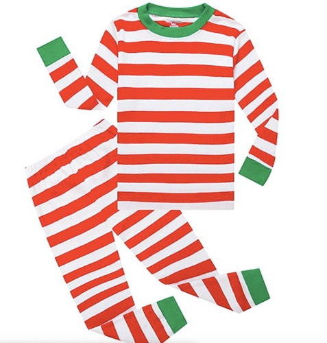 Christmas Striped Pajamas