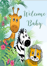 Load image into Gallery viewer, New Baby Card