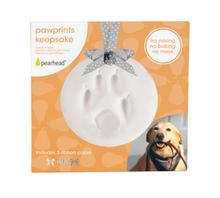 Load image into Gallery viewer, Pet Paw Prints Keepsake Ornament