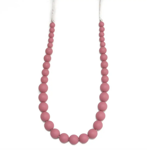 Teething Necklace Ava Blush