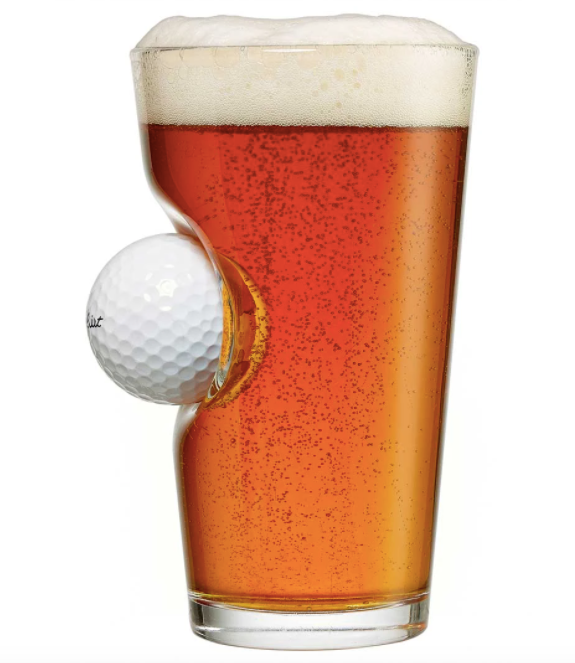 Golf Ball Pint Glass