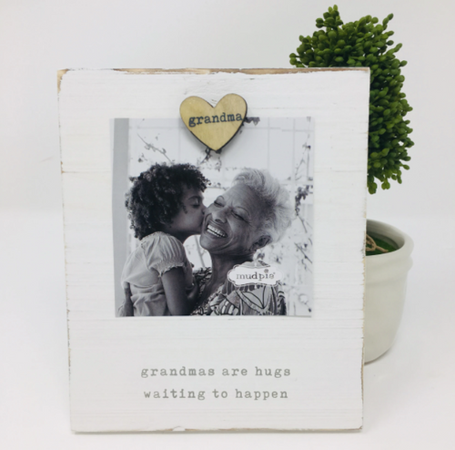 Grandma Magnetic Wood Frame
