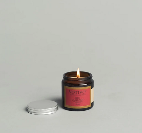 Jar Candle- Red Currant 2.0 Oz