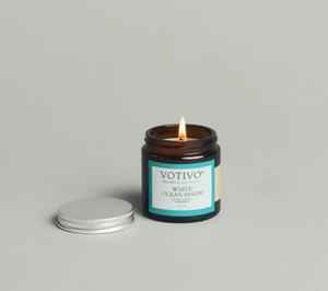 JAR CANDLE - WHITE OCEAN SANDS 2.8 Oz