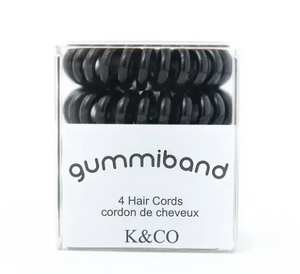 GummiBand Hair Cords- (4 count)