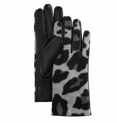 Leopard Glove Grey