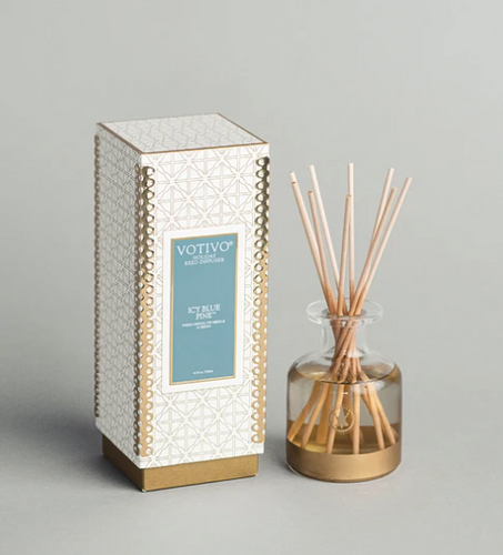 Holiday Reed Diffuser Icy Blue Pine