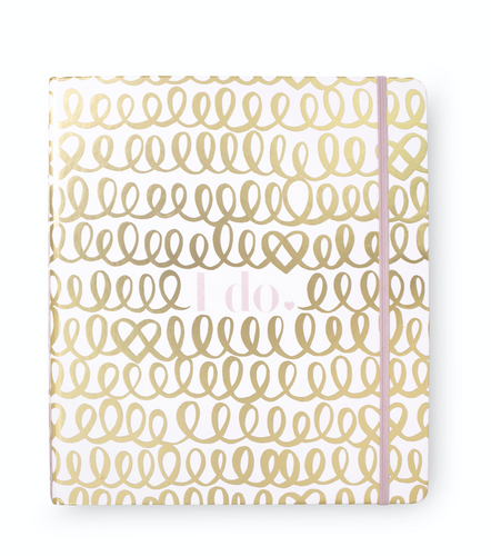 Bridal Planner - I do (Gold)