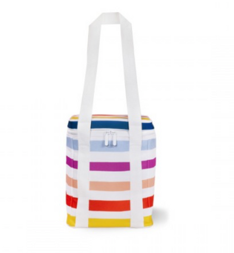 Picnic Cooler Bag - Candy Stripe