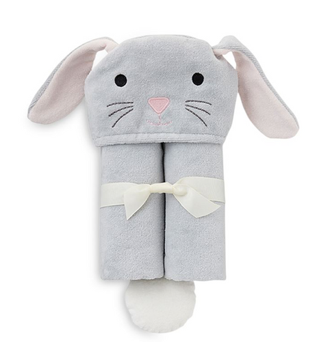 Gray Bunny Bath Wrap