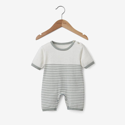 SAGE MINI STRIPE