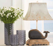 Load image into Gallery viewer, Gray Blue Glass Vases - Small