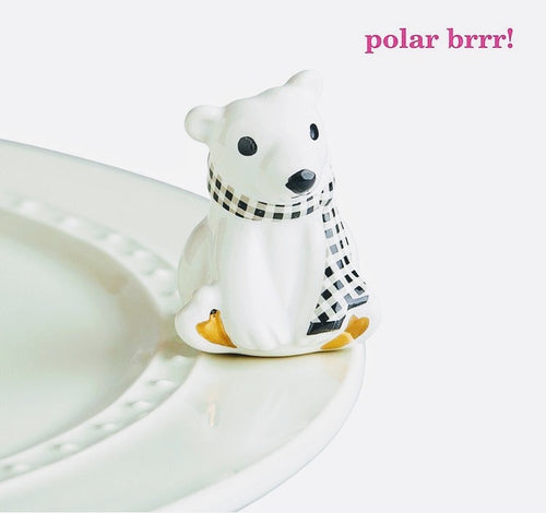 Nora Fleming Polar Brrr! Mini (Polar Bear)