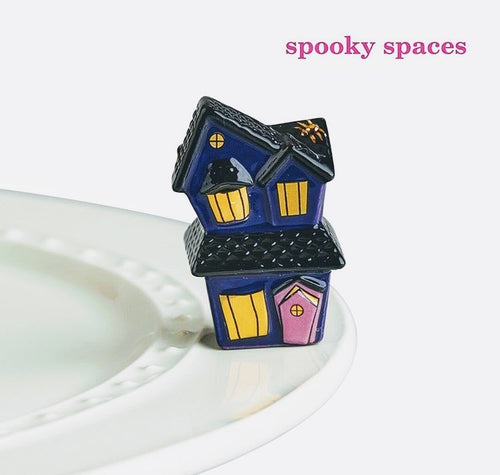 Nora Fleming Spooky Spaces Mini (Haunted House)