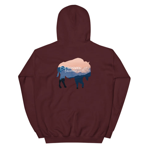 Everyone needs a go-to hoodie to for the cooler days, so go for one that's soft, smooth, and stylish. Throw this on when you're sitting around the campfire.  Size: S, M, L, XL, 2XL Style: Double-lined hooded sweatshirt Colors: Navy, Maroon Material: 50% cotton, 50% polyester