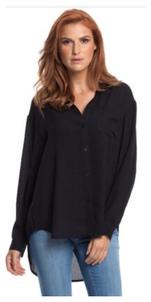 Black Button Down