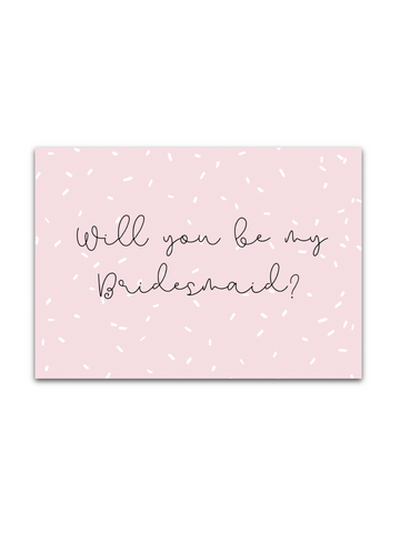 FREE Bridesmaids card