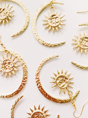 Chasing summer earrings