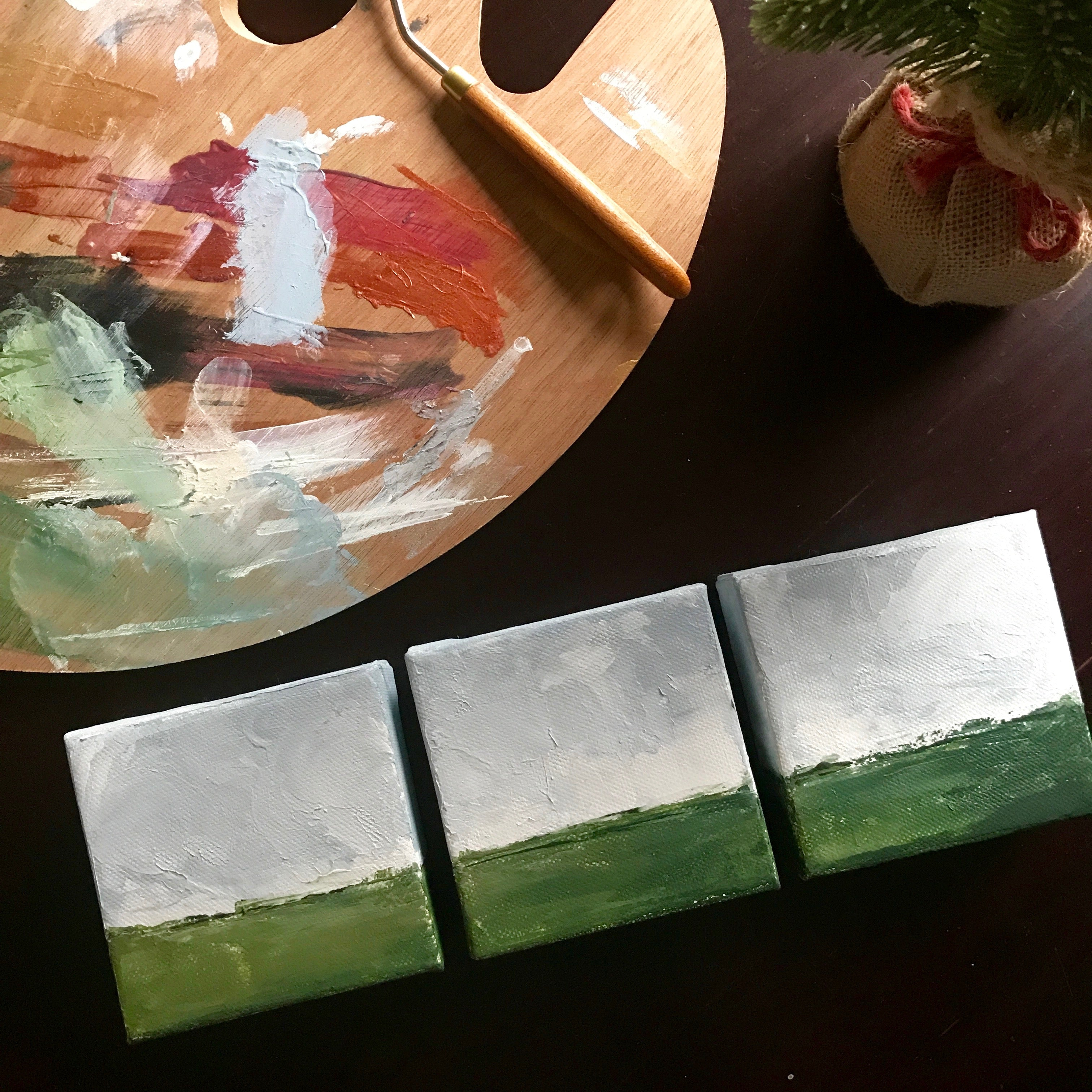Mini Abstract Landscape Series