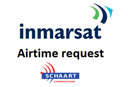INMARSAT AIRTIME REQUEST