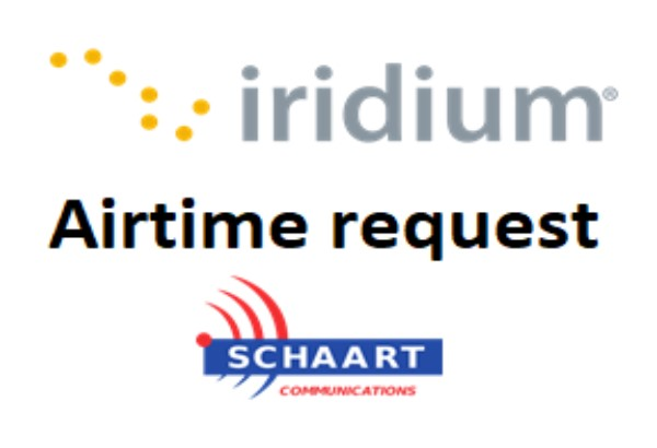 IRIDIUM AIRTIME REQUEST