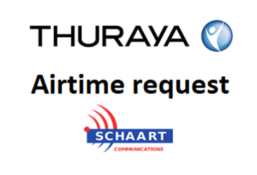 THURAYA AIRTIME REQUEST
