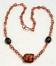 Load image into Gallery viewer, Necklace, Hand-forged Links
