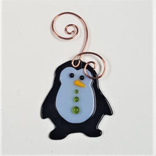 Load image into Gallery viewer, Holiday Ornament, fused glass - BLIZZARD OF SAVINGS!