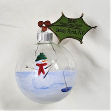 Load image into Gallery viewer, Collectible Ornament Series, Handpainted Snowman Ornament - BLIZZARD OF SAVINGS!