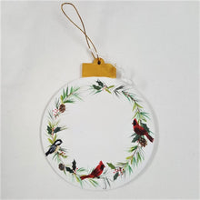 Load image into Gallery viewer, Holiday Ornament, handpainted wood - CLEARANCE